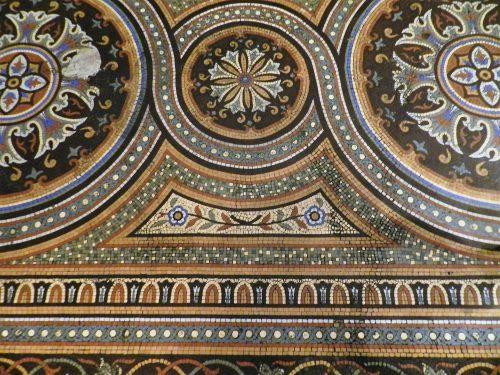Mosaics in Chicago_Chicago Athletic Association floor pattern.