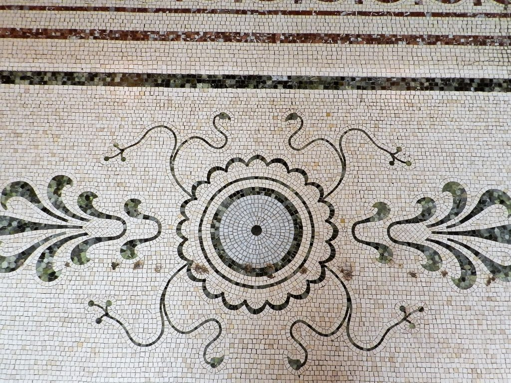 Mosaics in Chicago_Chicago Cultural Centre, Floor, 2.