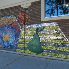 Mosaics in Chicago_Green Star Movement mosaic, Whole Foods, 2.