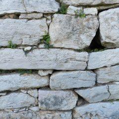 Elefsina (Eleusis) wall, Greece.