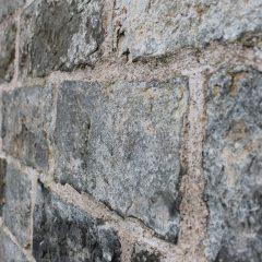 Edinburgh wall, detail.