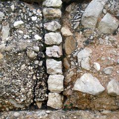 Vertical in-fill, Keramikos, Greece.