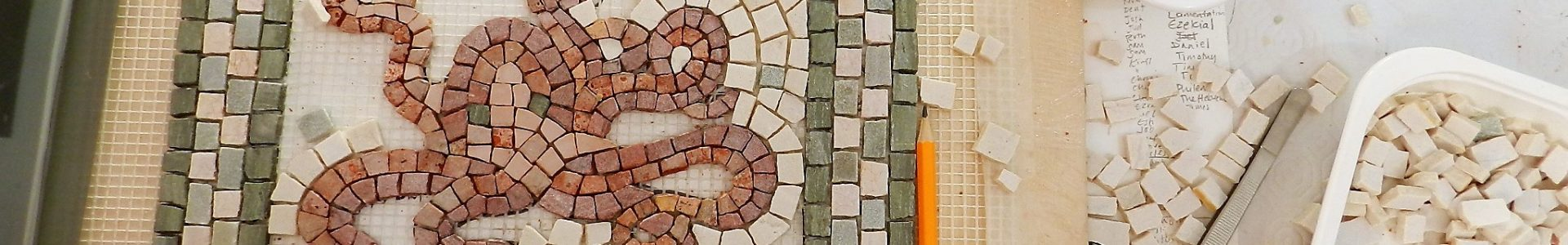 Six day mosaic course in Greece, 2018