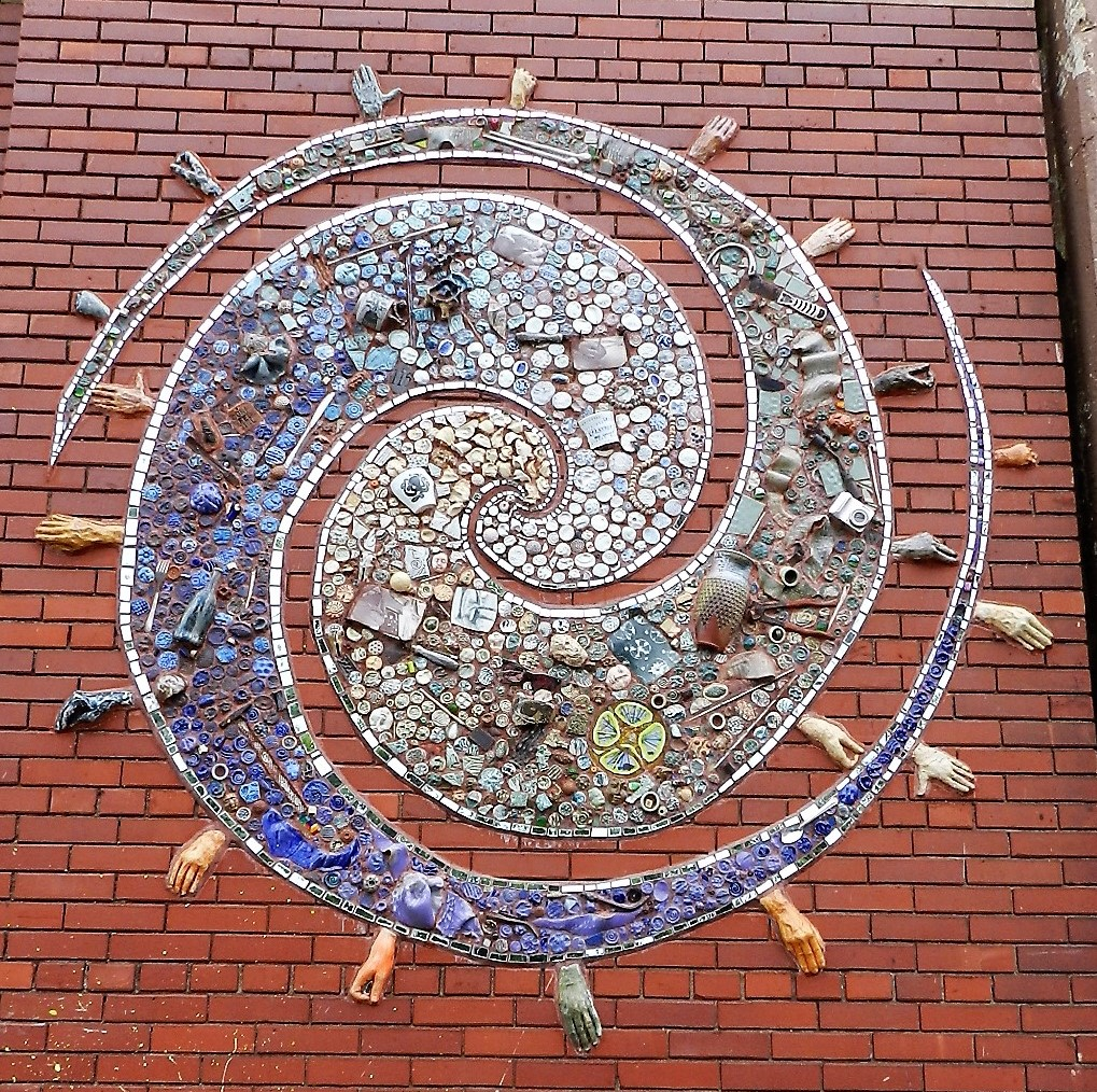 Lill Street Arts Centre, Chicago, mosaic.