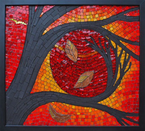 Kate Rattray Mosaics. The Embrace.