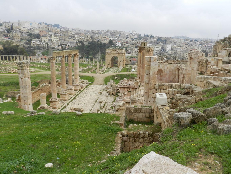 ruins at Jerash, Jordan