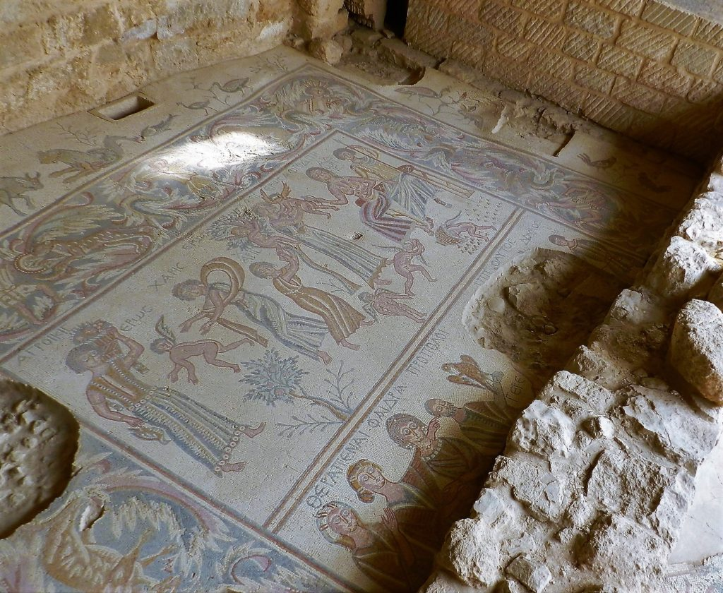 ancient floor mosaic