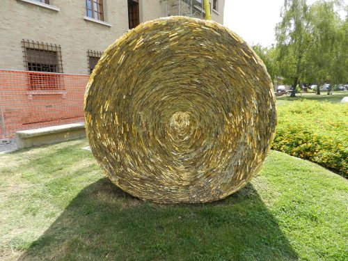 nature of mosaics _ bale of hay mosaic