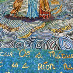 Ireland Madonna mosaic