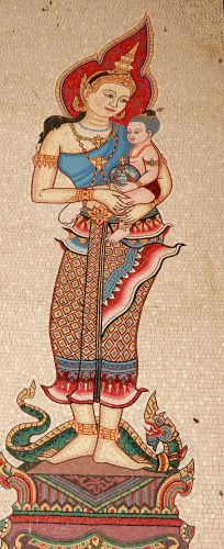 Thai Madonna and Child