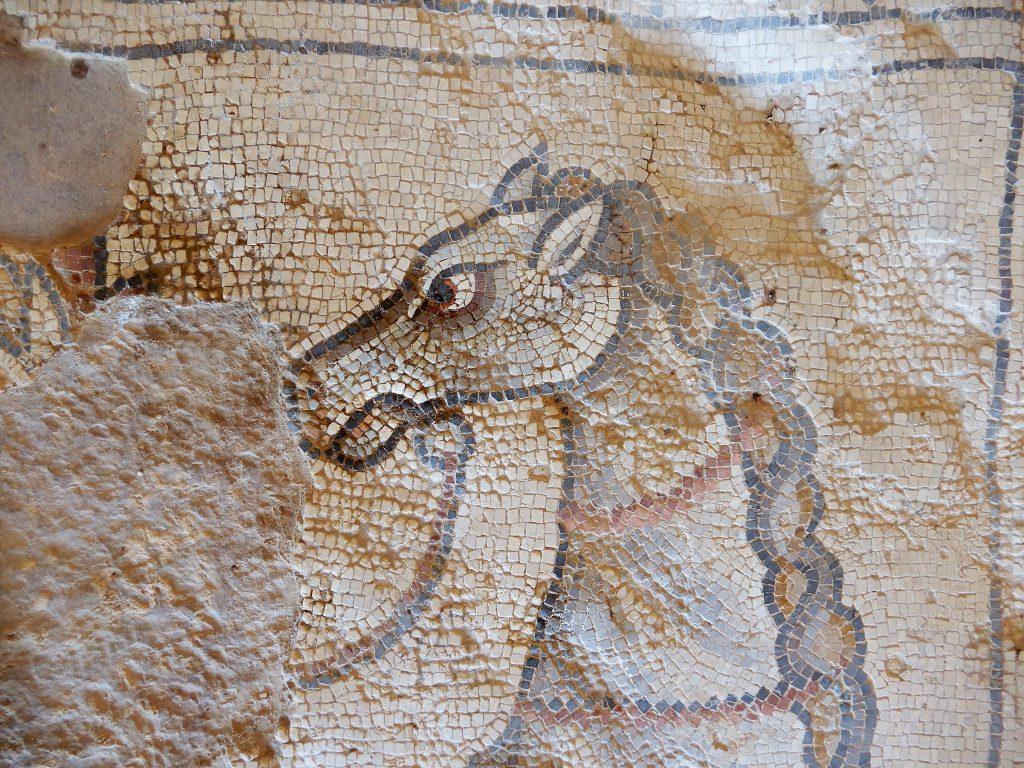 horse head mosaic