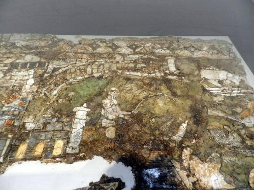 Kechries glass mosaics - fisherman and port