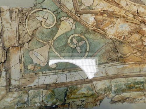 Kechries glass mosaics - border detail