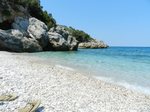 Labinou beach, Pelion, Greece.