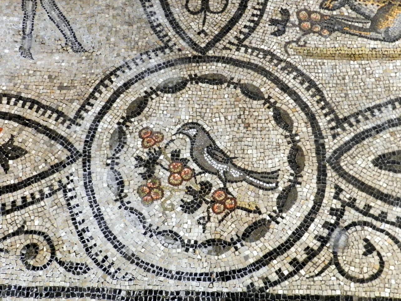 Bird mosaics of Aquileia, Italy.