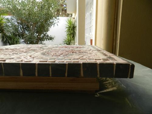 Mosaic edging - 2
