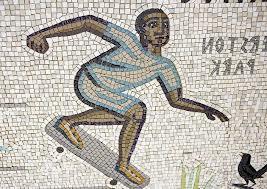 Tessa Hunkin, Hackney mosaic