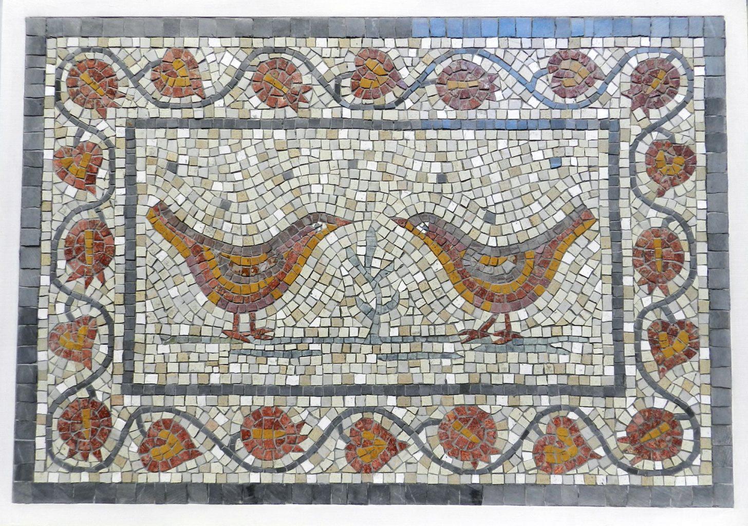 On making a wedding mosaic