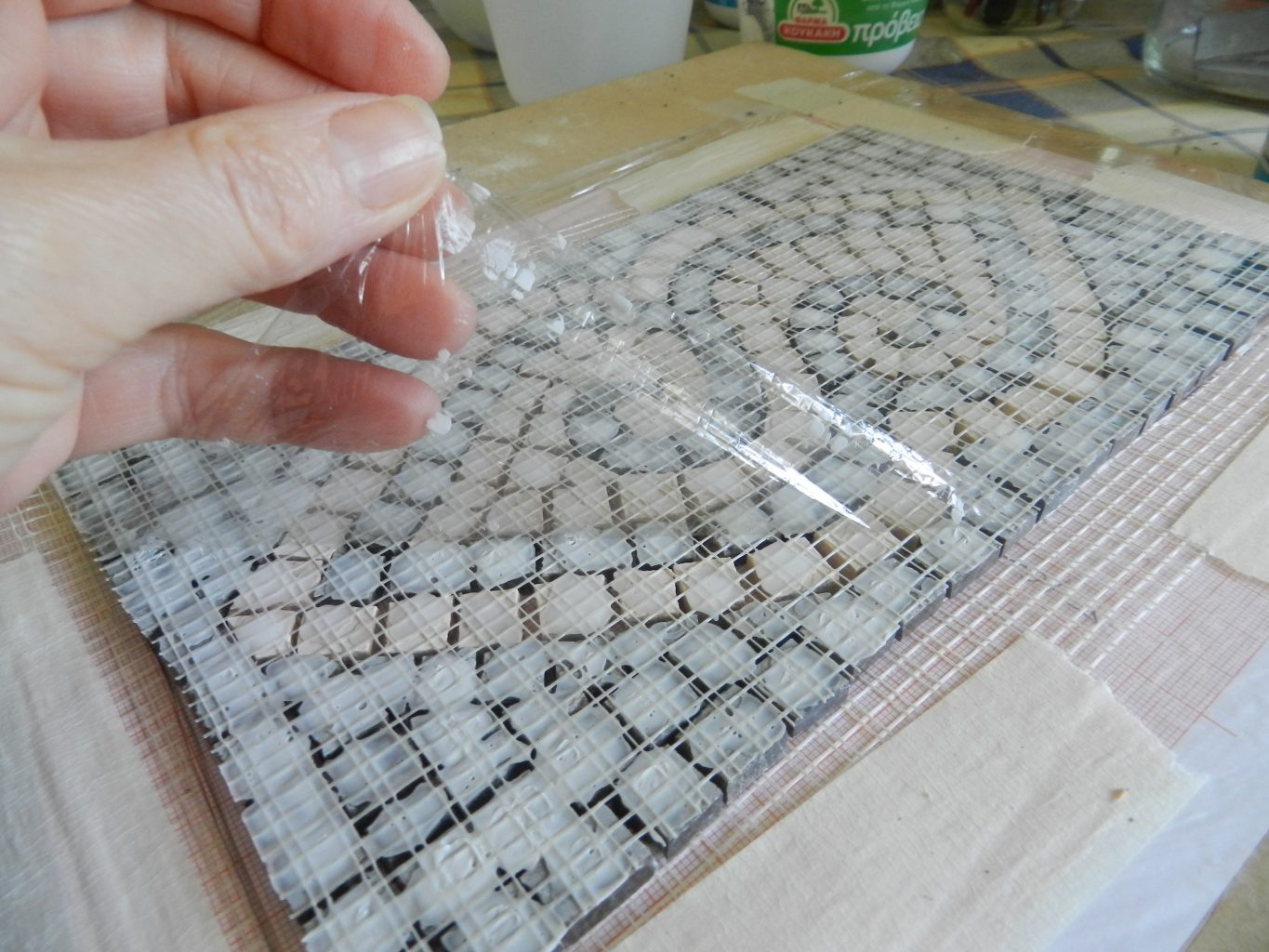 Making A Mosaic On Mesh Step By Step