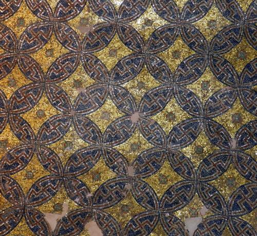 Ceiling mosaics, Rotunda, Thessaloniki, Greece.