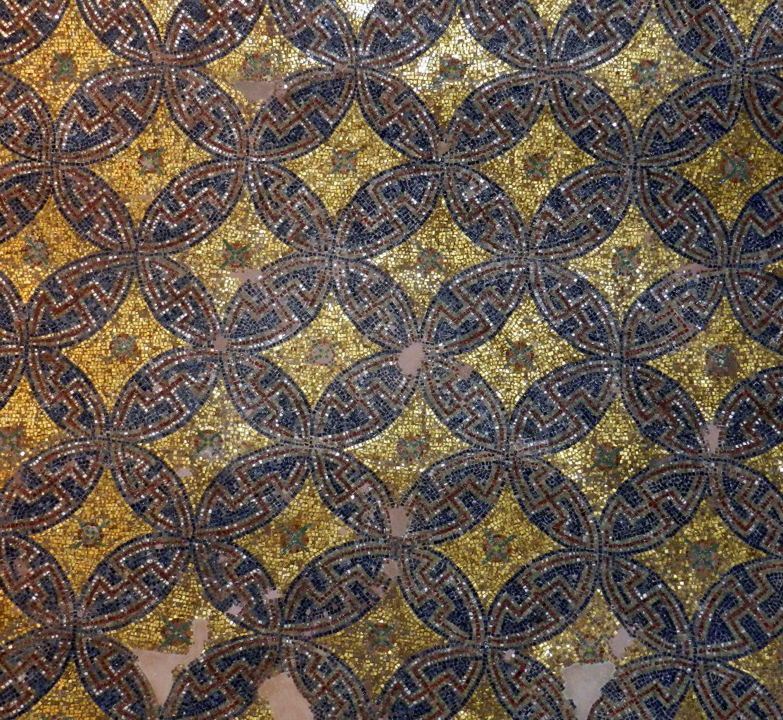 The Rotunda mosaics, Thessaloniki, Greece.