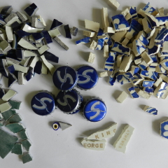 Chopped ceramics and other bits