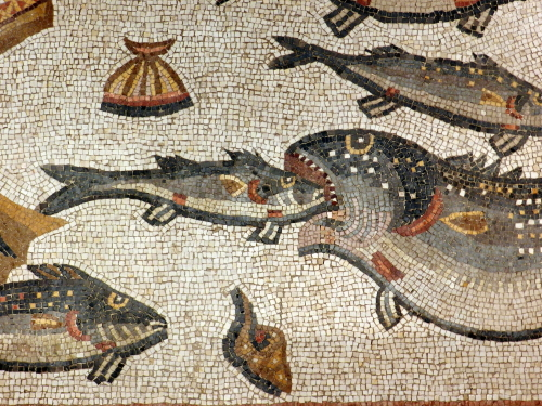 Lod mosaic, marine detail 1