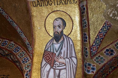 Saint Paul, Osios Loukas. Photo: Helen Miles Mosaics