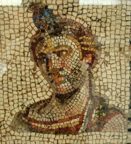 Roman mosaic, British Museum, by Kotomi, on Flickr.
