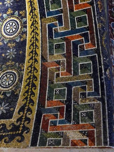 Galla Placidia's Mausoleum, Ravenna, Italy.