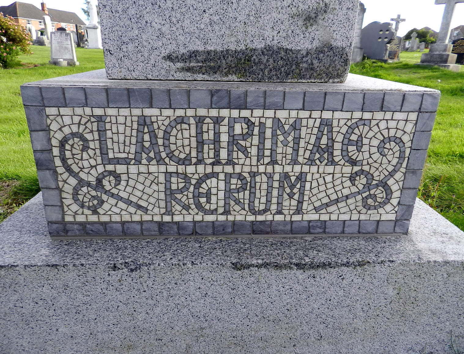 Mosaic headstones: ancient and modern