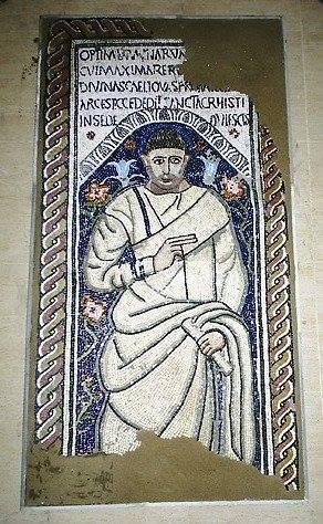 Lawrence Payne, tomb mosaic