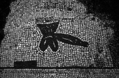odd mosaics. ostia