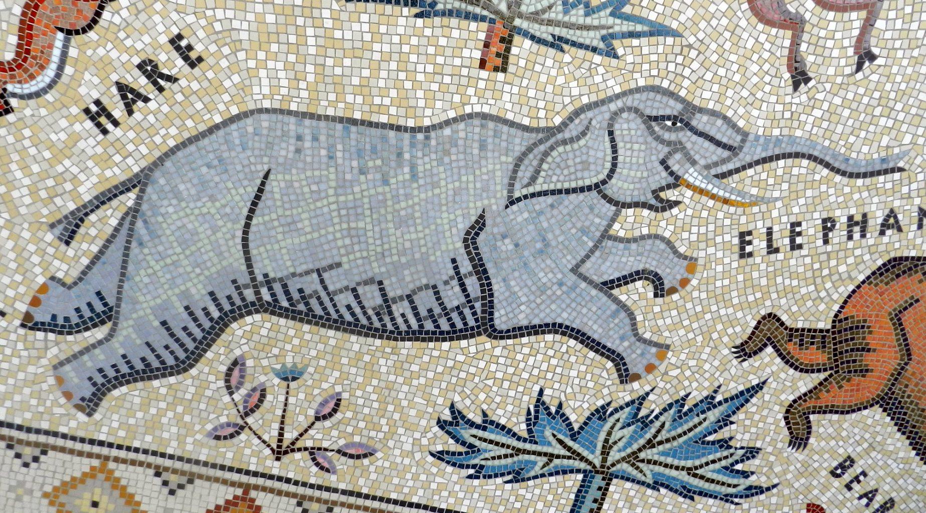 The Hackney Downs Mosaic, London.