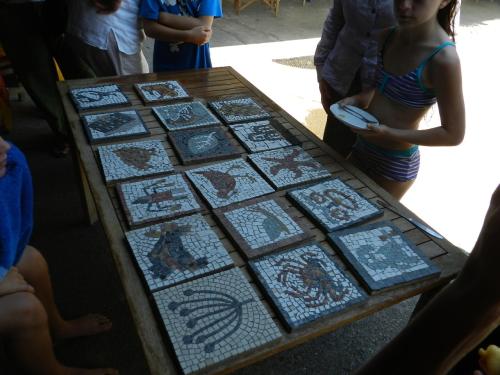 weekend of mosaics
