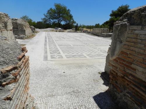 mosaics at Isthmia.