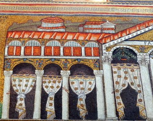 S. Apollinare Nuovo, Ravenna, Italy. Theodoric Palace.