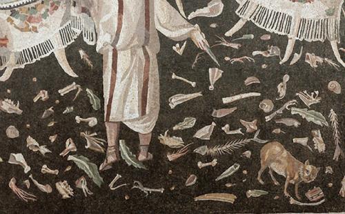Unswept Floor mosaic