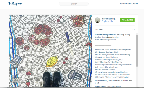 Unswept Floor mosaic.