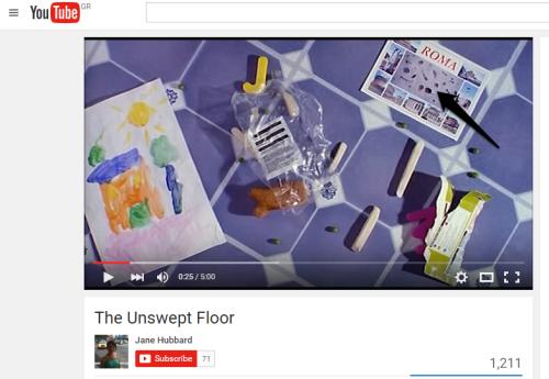 Unswept Floor mosaic film