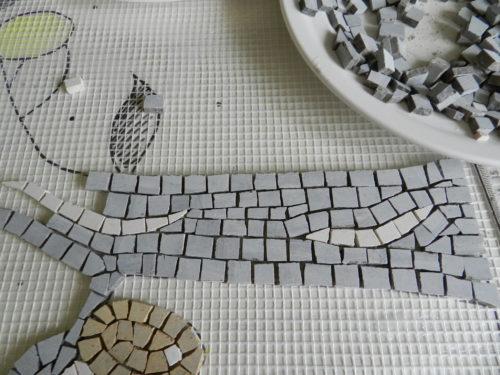 lemon tree mosaic