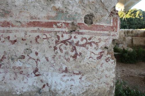 Rhodes fresco detail