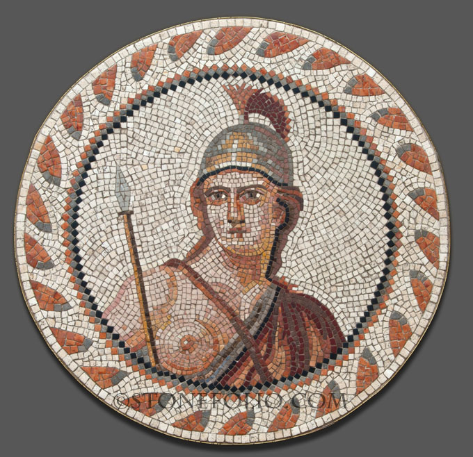 Making Roman mosaic copies