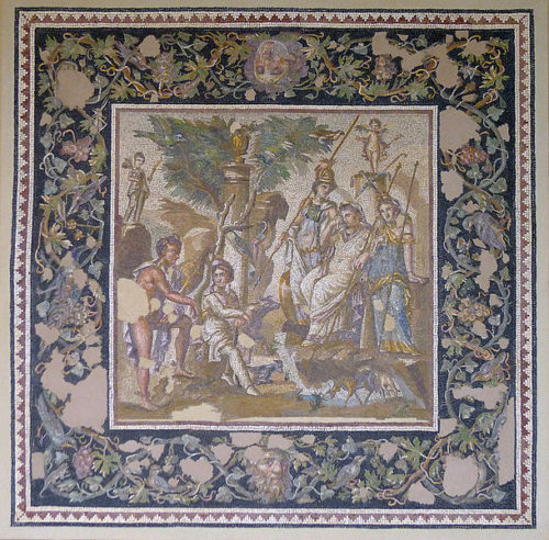 judgement-of-paris-mosaic-louvre-wikicommons