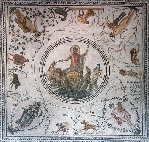 Mosaics in the history of art (or not as the case may be)