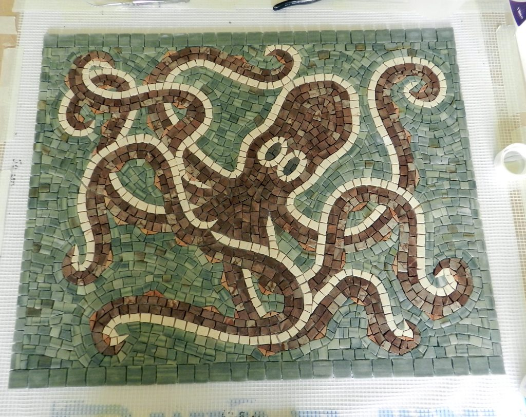 Washington panel mosaic_the octopus