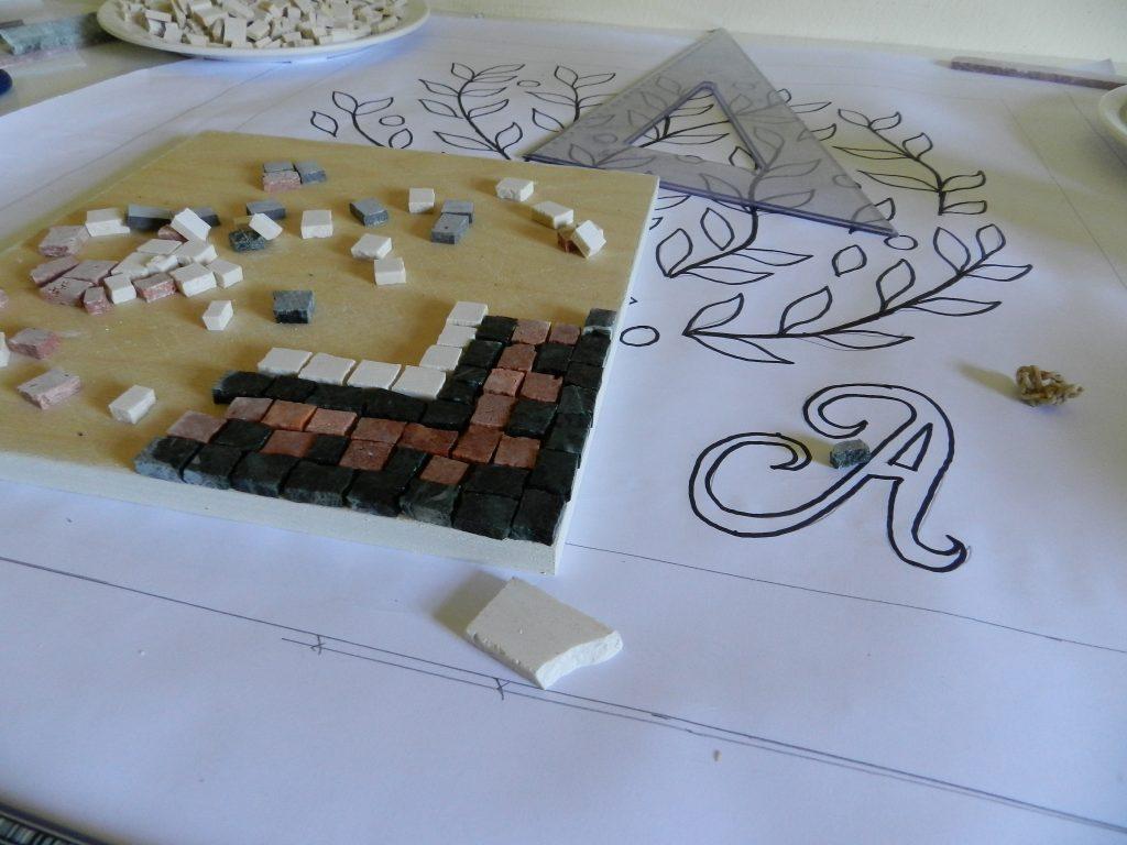 Wedding mosaic tree_design
