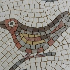 Birds and branches mosaic _ bird 2