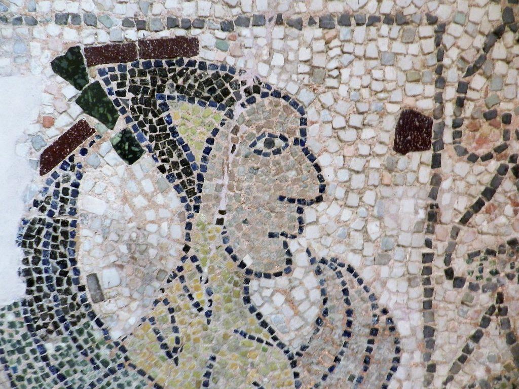 Man-bird Mosaics of San Giovanni Evangelista, Ravenna.