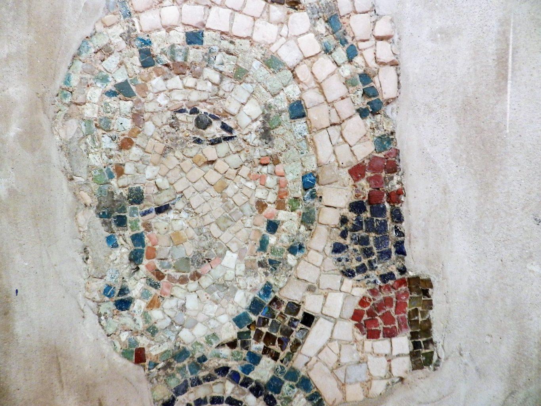 Head. Mosaics of San Giovanni Evangelista, Ravenna.